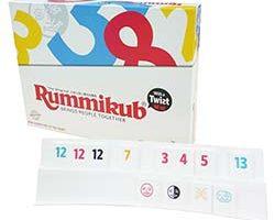 Rummikub Twiest Flat rack-s